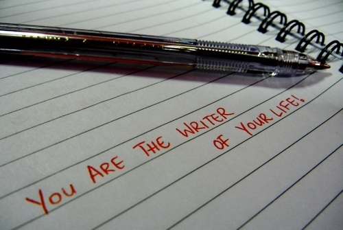 you are the writer